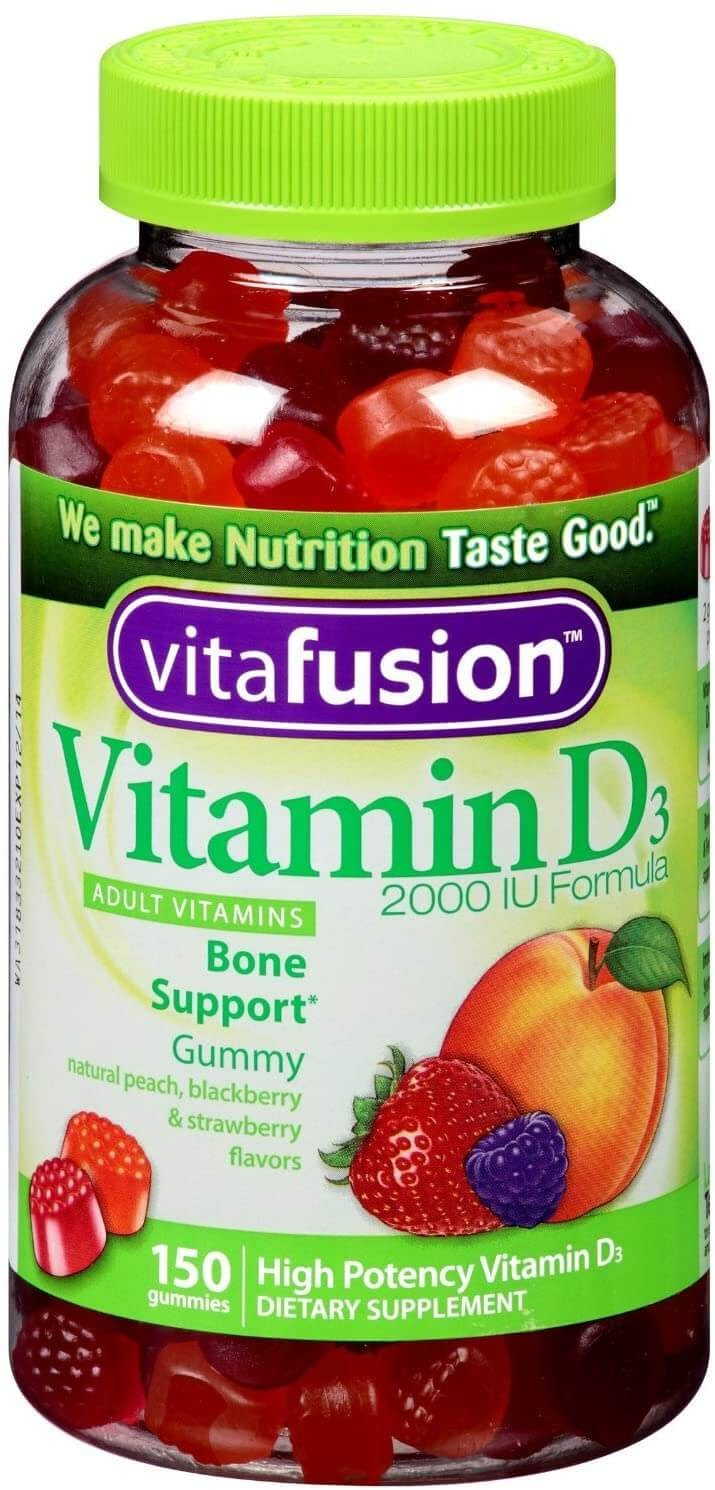 Vitafusion Vitamin D3 Gummy Vitamins