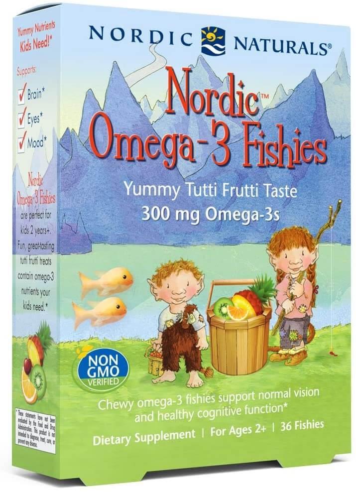 Nordic Naturals Omega 3 Fishies