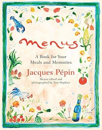 The Menus Book of Meals & Memories