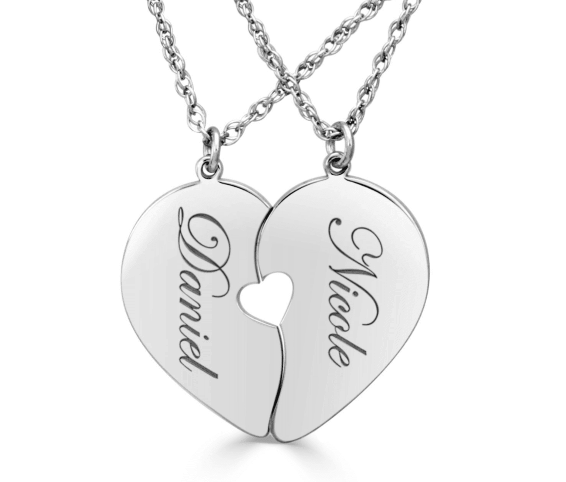 Two Halves of One Heart Pendant