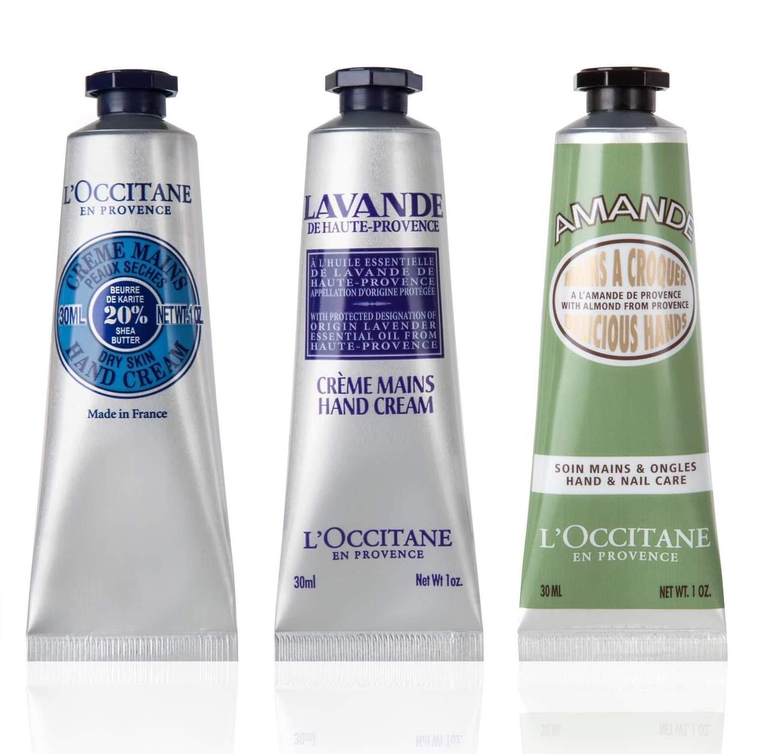 L'Occitane Hand Cream Trio