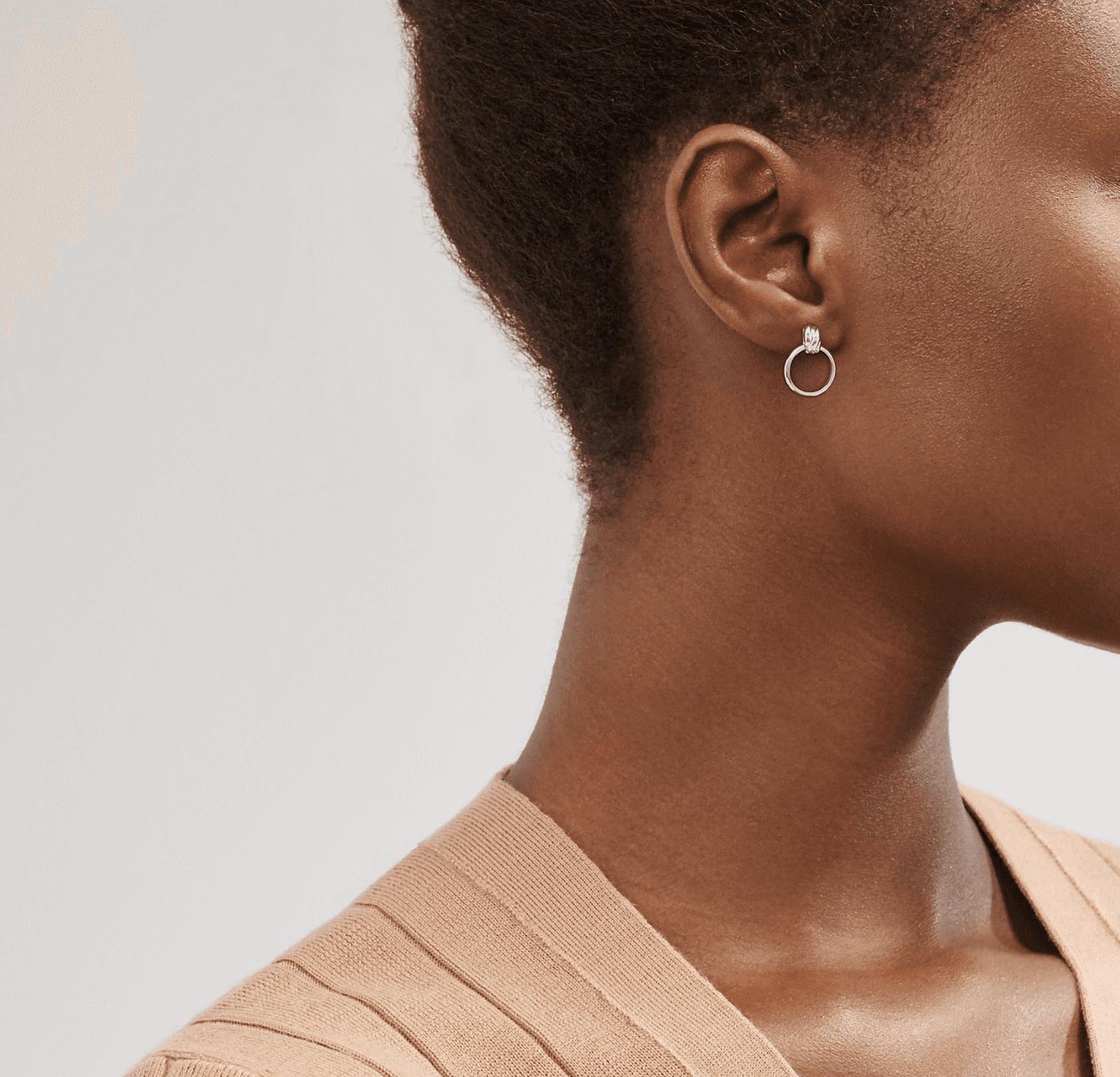 Tiffany & Co. Mini Hoop Earrings