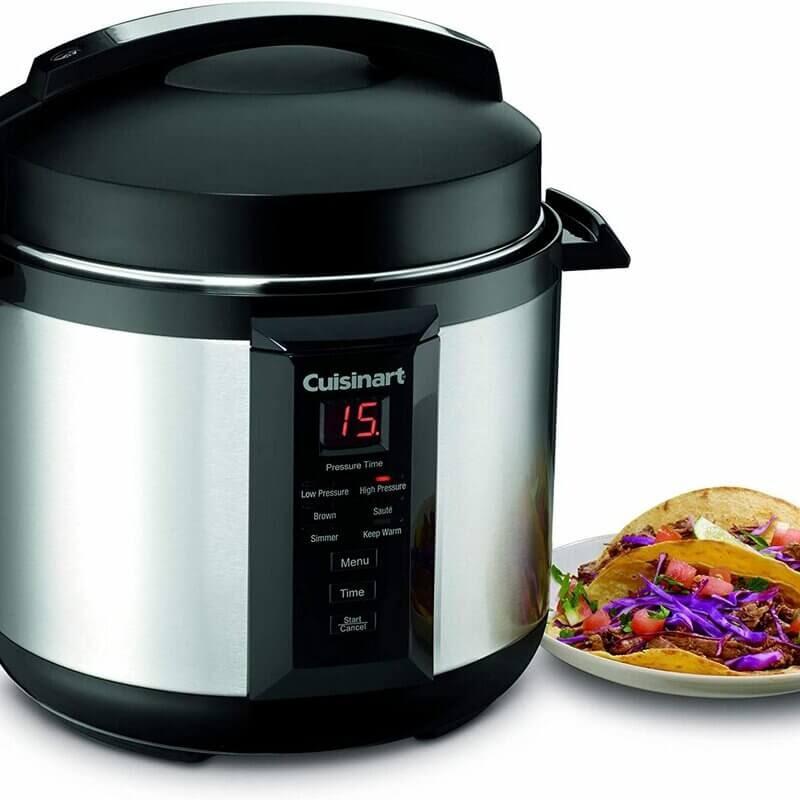 Cuisinart 6 Quart Electric Pressure Cooker