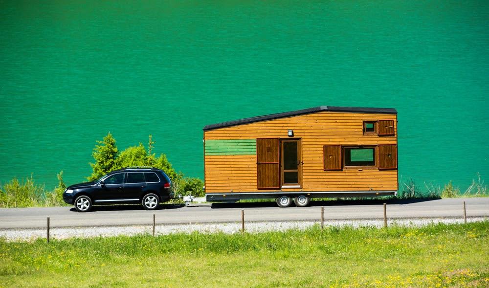 tiny house on a trailer