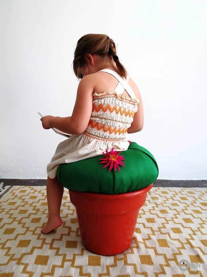 A Cactus Stool