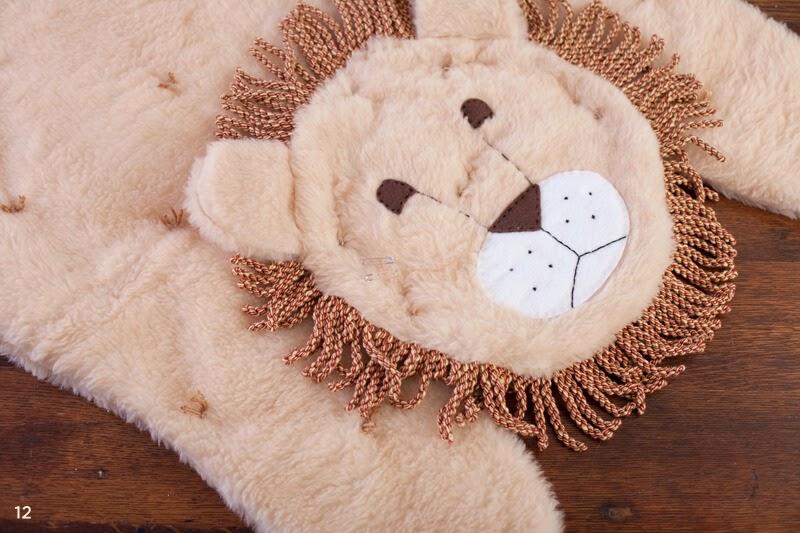 A DIY Animal Rug