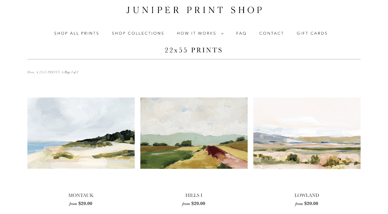 Juniper Print Shop