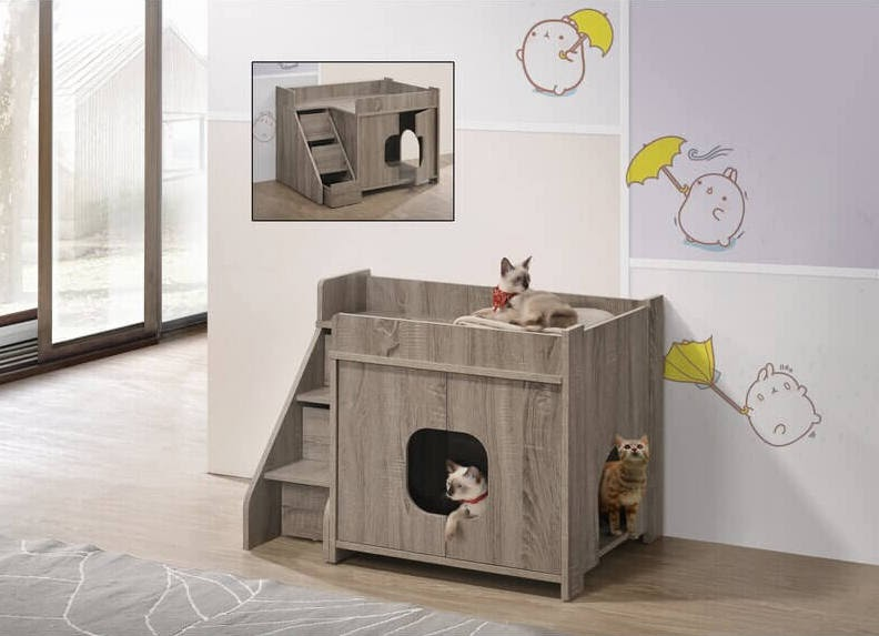 Tucker Murphy Pet Laskie Litter Box Enclosure