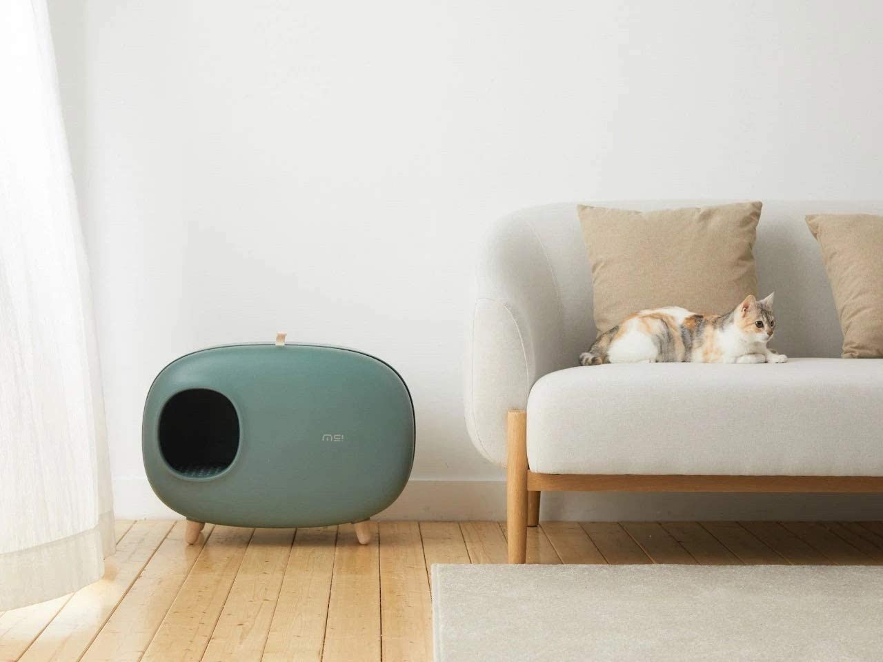 Sikoon MS Cat Litter Box