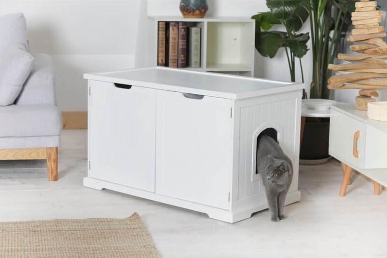 Archie & Oscar Alfonso Jumbo Litter Box Enclosure