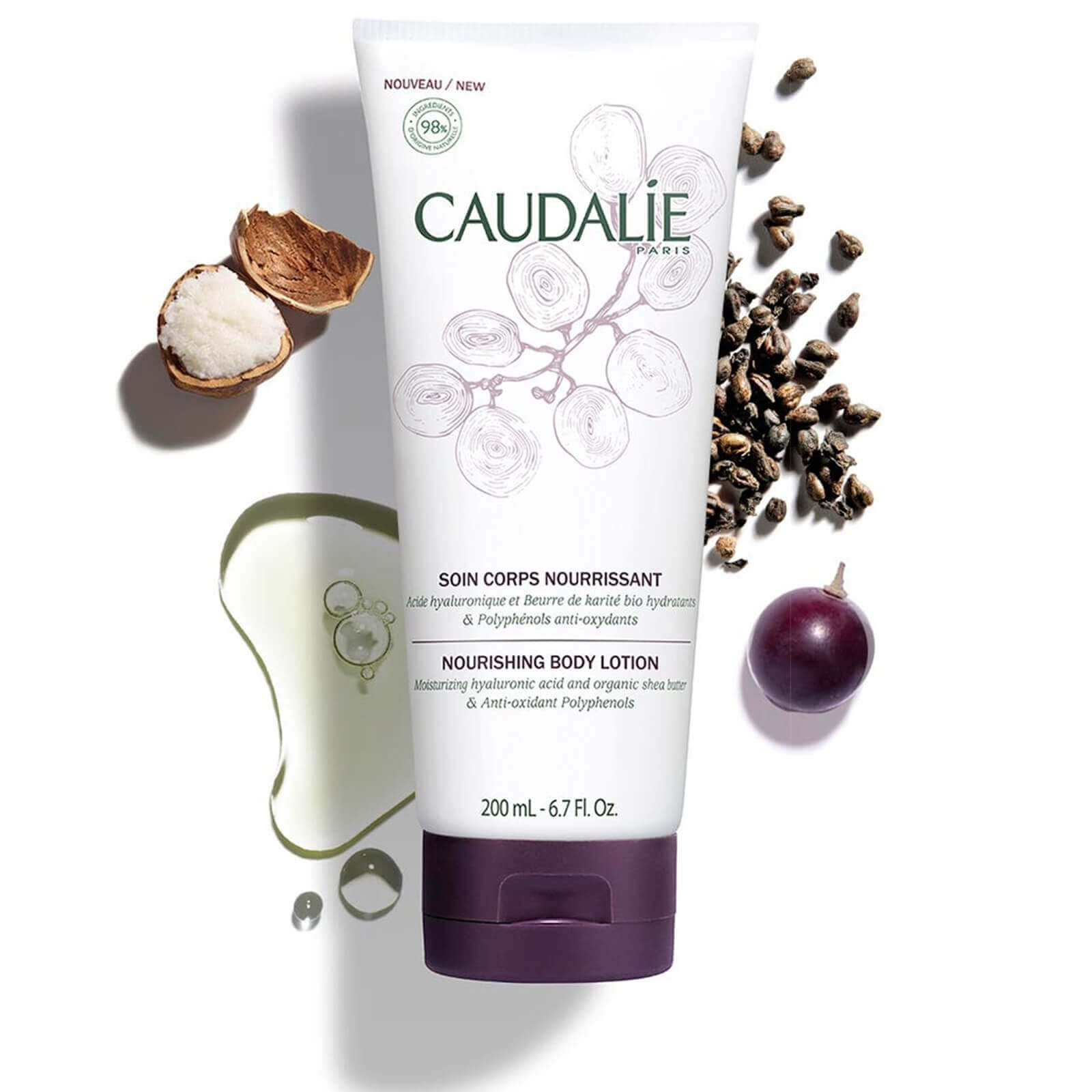 Caudalie Nourishing Hyaluronic Body Lotion