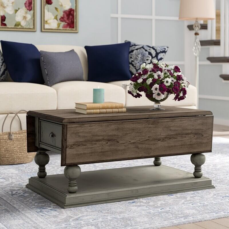 Sandbach Extendable Coffee Table and Shelf