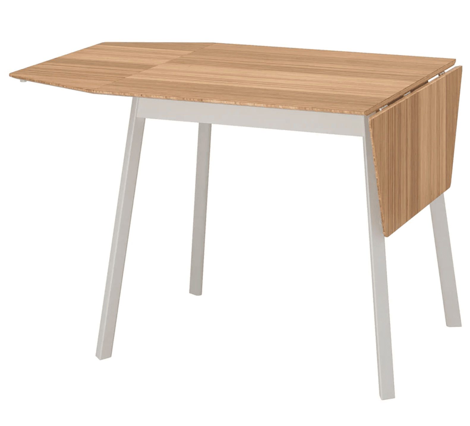Ikea Bamboo Drop Leaf Table