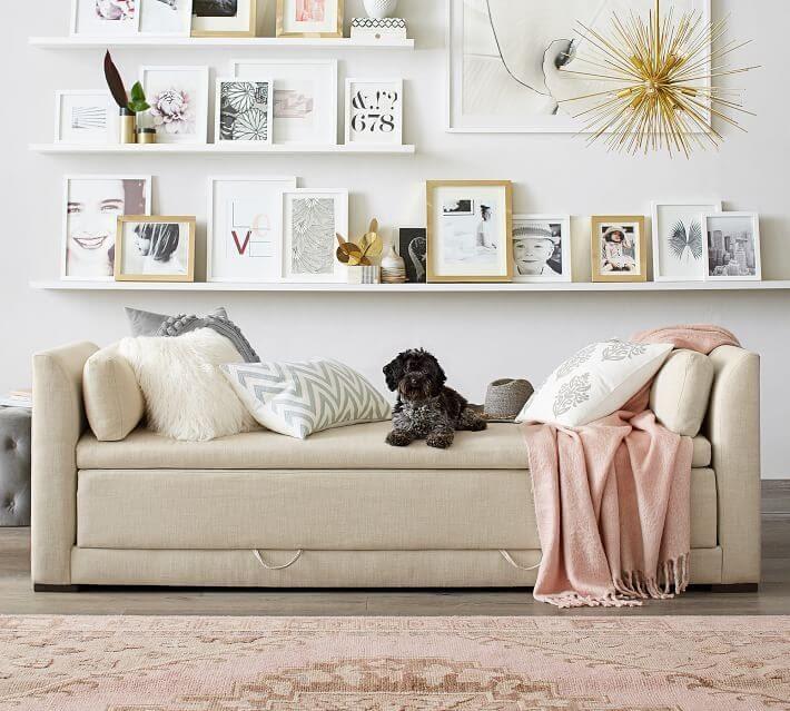Luna Upholstered Daybed Sleeper