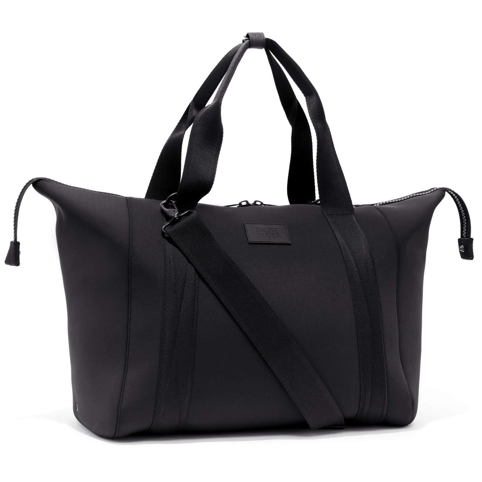 Dagne Dover Landon Neoprene Carryall Duffle Bag