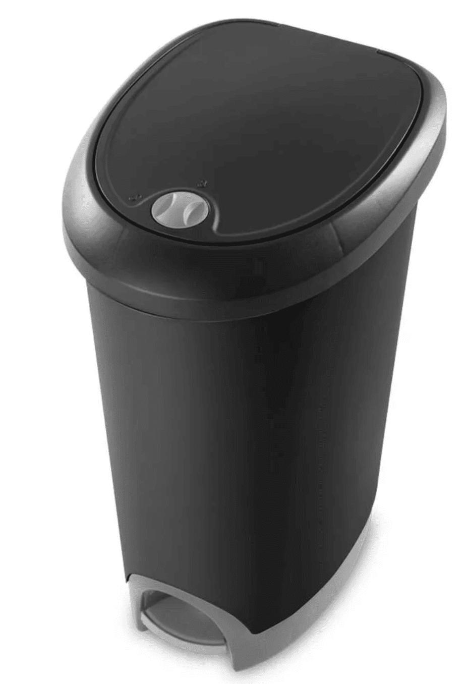 Sterilite Locking Lid Kitchen Wastebasket