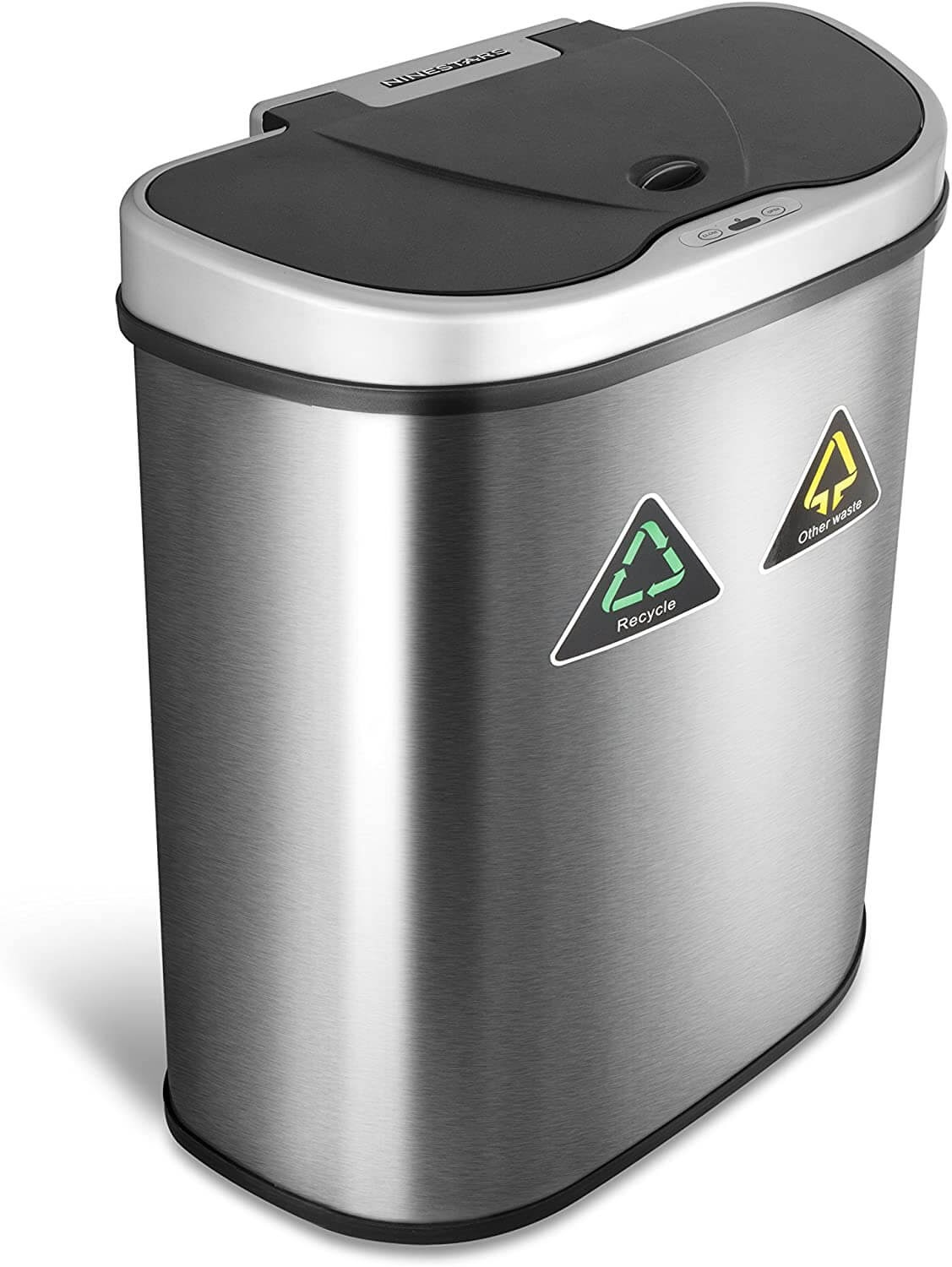 NINESTARS Touchless Trash Can/Recycler