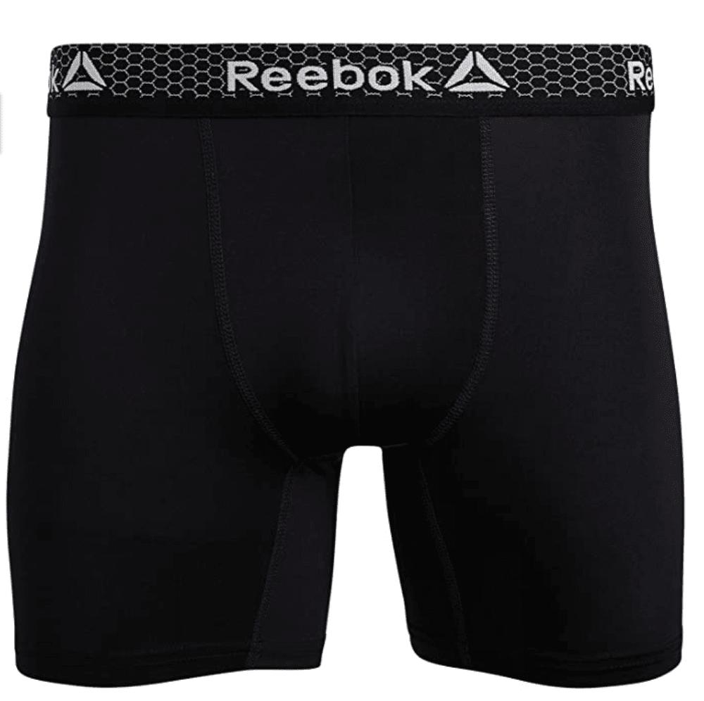 Reebok Men's Quick Dry Moisture Wicking Boxer Briefs