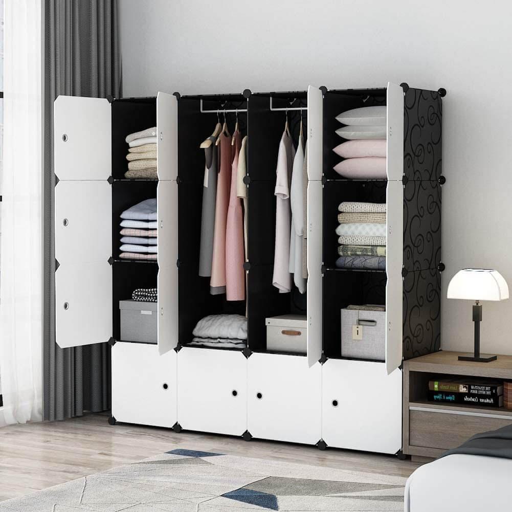 MAGINELS Portable Wardrobe Closet