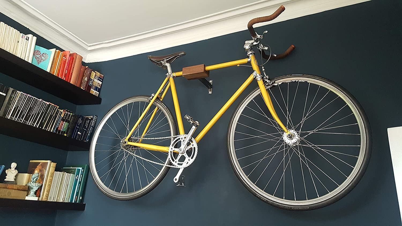 Play Haus Wood and Steel Indoor Bike Wall Mount