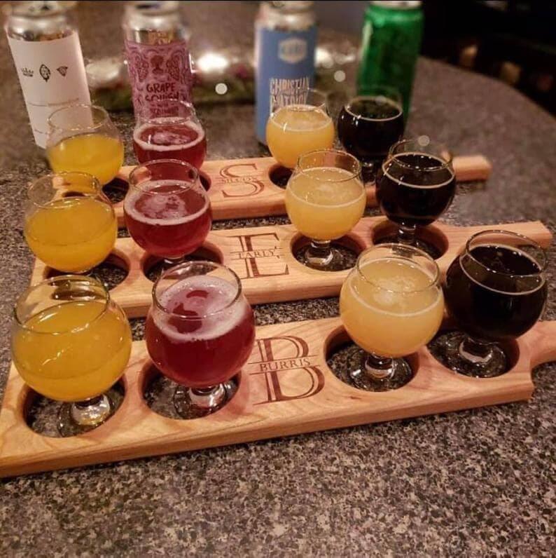 Custom Beer Flights
