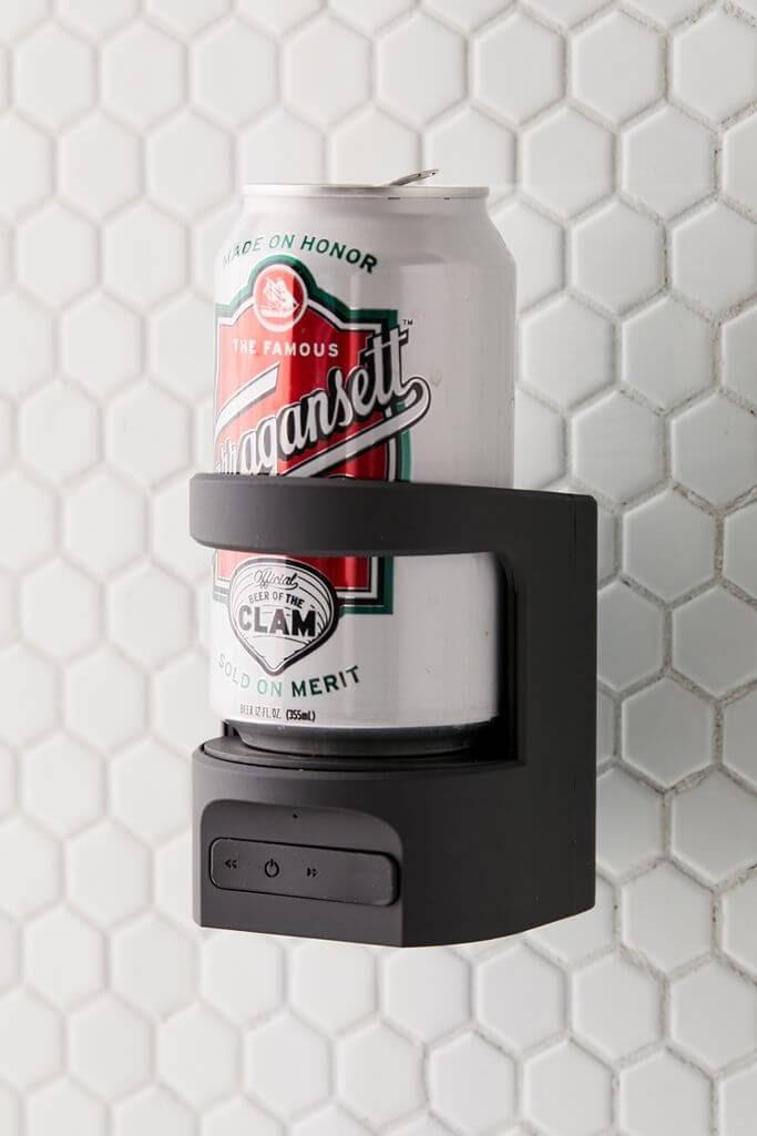 Shower Beer Holder Bluetooth Speaker
