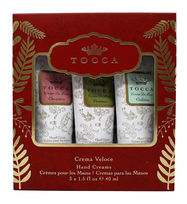 Tocca Beauty Set of 3 Hand Creams