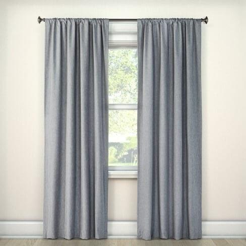 Heathered Thermal Room Darkening Curtain Panel