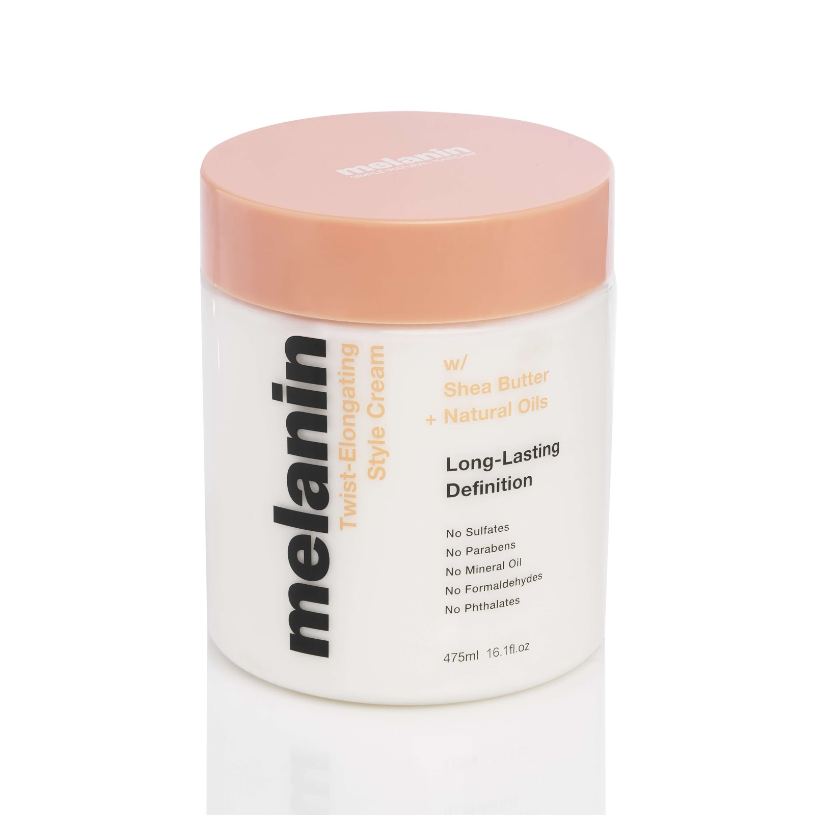 Melanin Twist Elongating Styling Cream