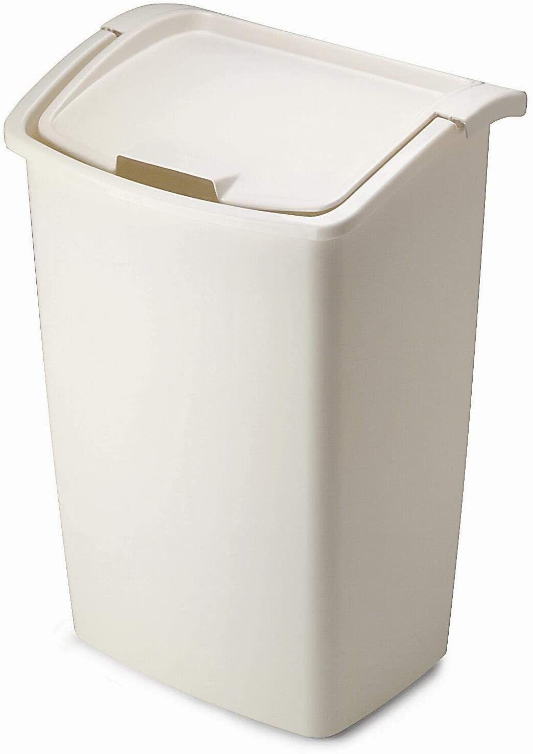 Rubbermaid Dual-Action Swing Lid Trash Can