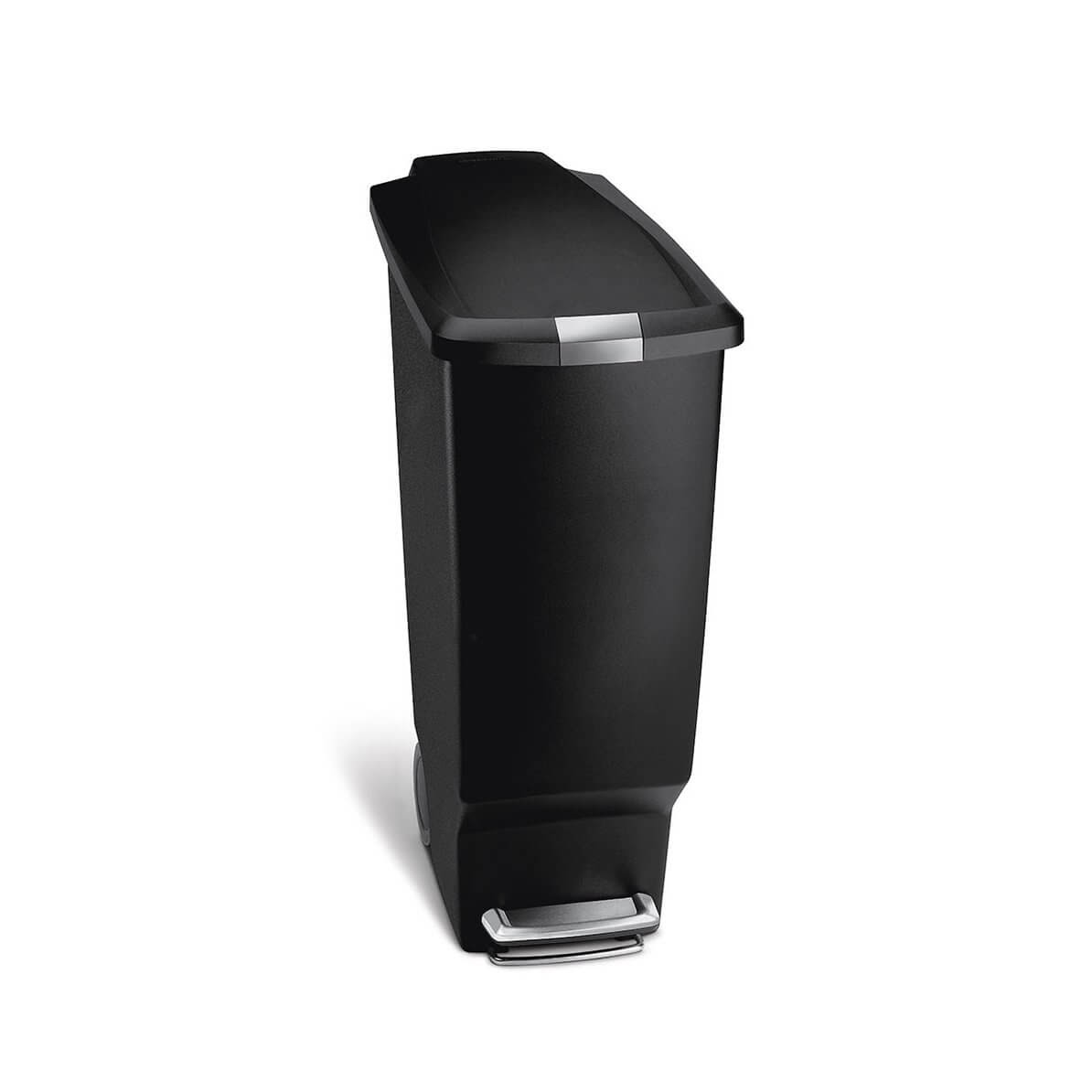 Simplehuman 40 Liter/10.6 Gallon Slim Kitchen Step Trash Can