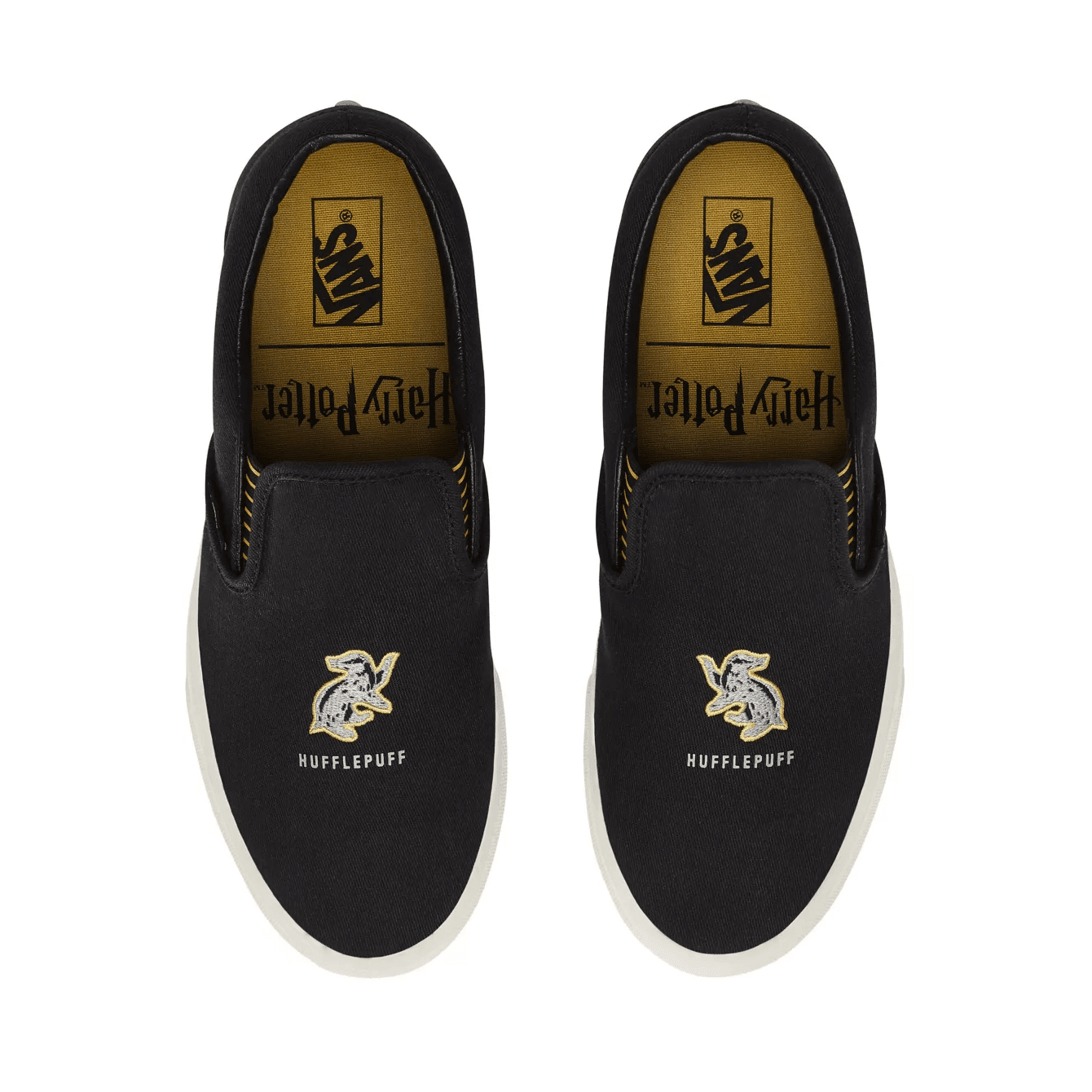 Vans X Harry Potter Hufflepuff Slip-On Sneakers