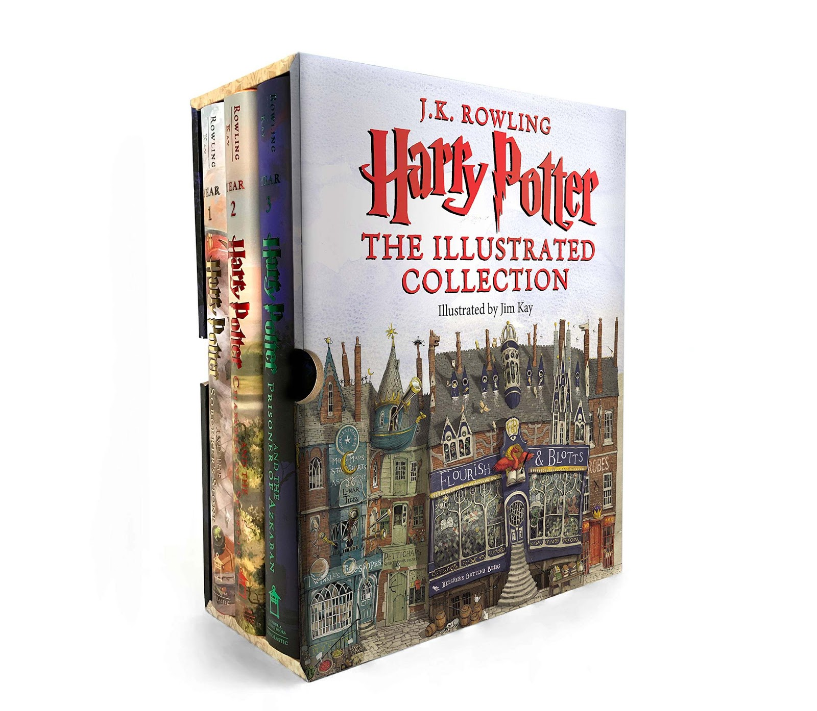 Harry Potter the Illustrated Collection (Books 1-3)