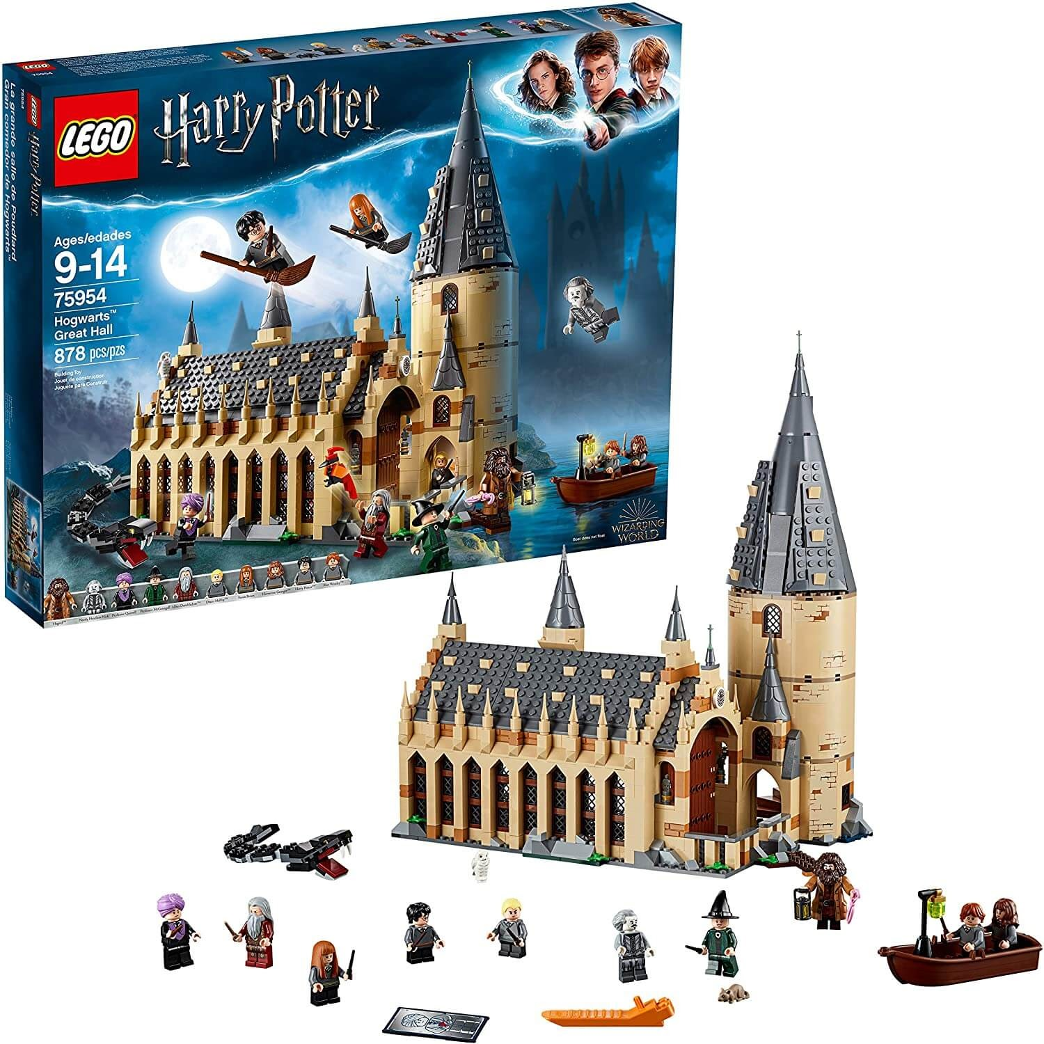 Harry Potter Hogwarts Great Hall Lego Set