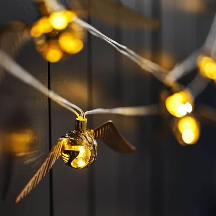 Harry Potter Golden Snitch Lights