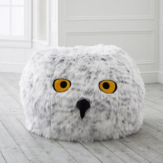 Harry Potter Hedwig Owl Bean Bag Chair