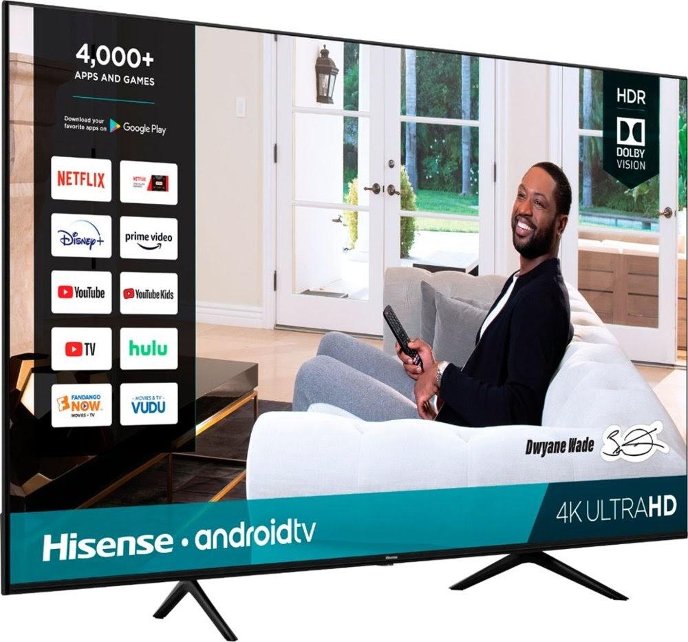 """Hisense 70"""" 4K Android TV"""