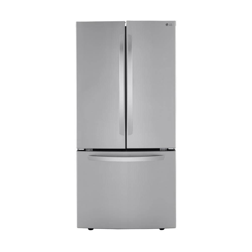 LG Electronics 33 inch stainless steel fridge