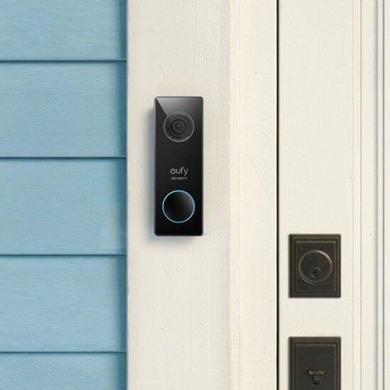 Eufy Security Wired 2K Video Doorbell
