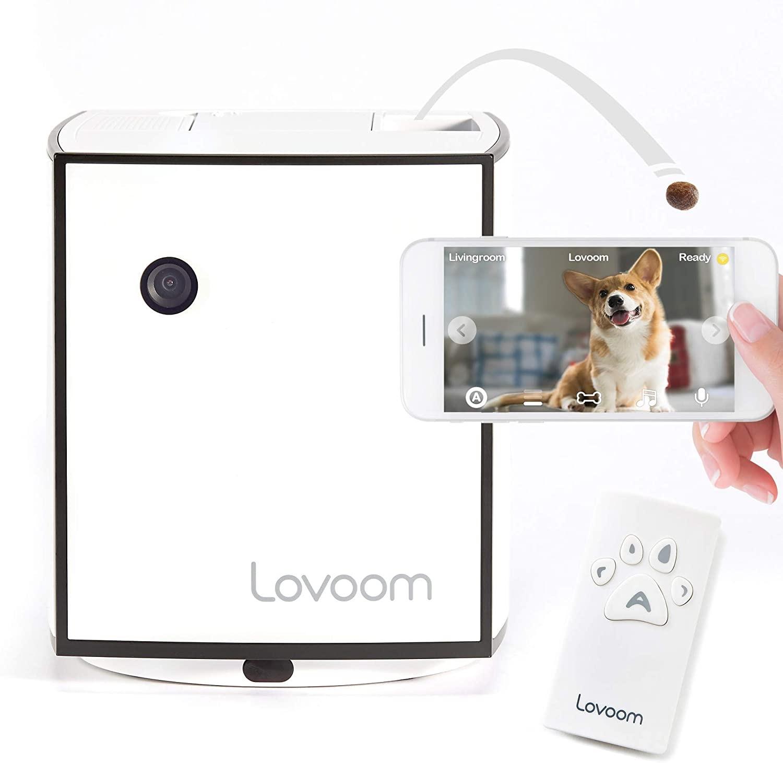 Lovoom Interactive Pet-Monitoring Camera