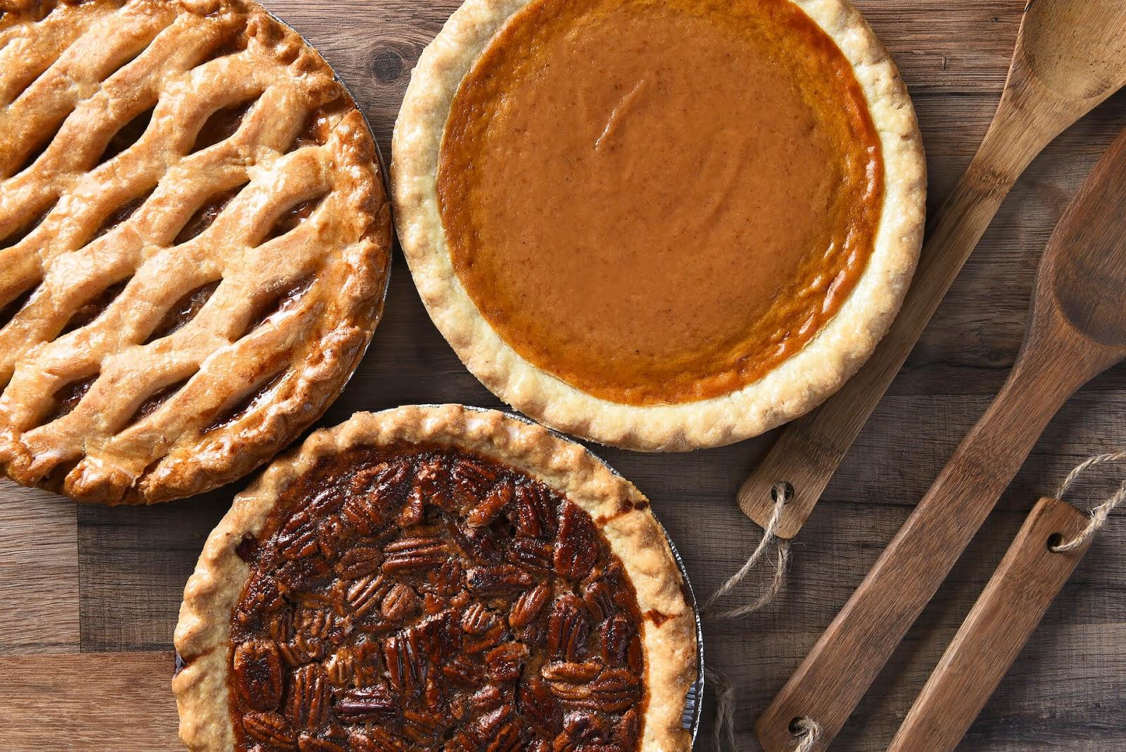 Vegan Thanksgiving Dessert Pies