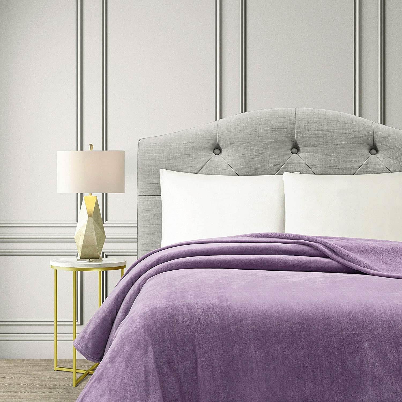 Flannel Fleece Bed Blanket