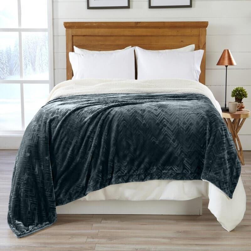 Allande Premium Reversible Luxury Blanket