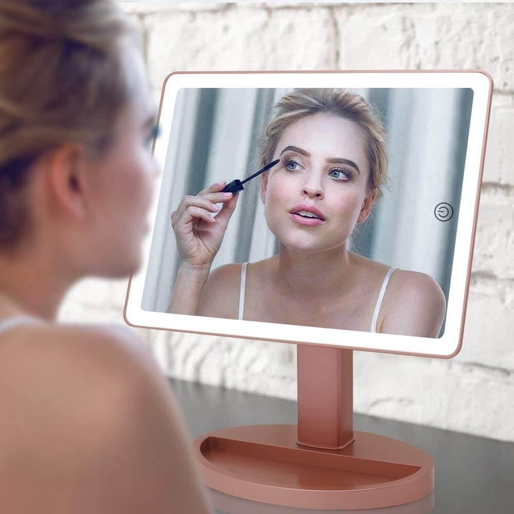 Large Lighted Vanity makeup mirror