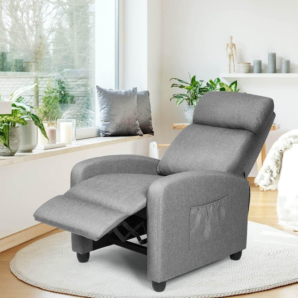 Giantex Massaging Recliner