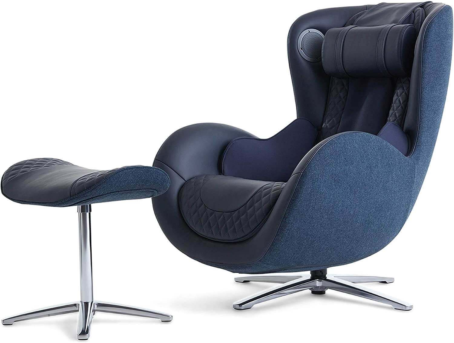 Nouhaus Classic Massage Chair with Ottoman