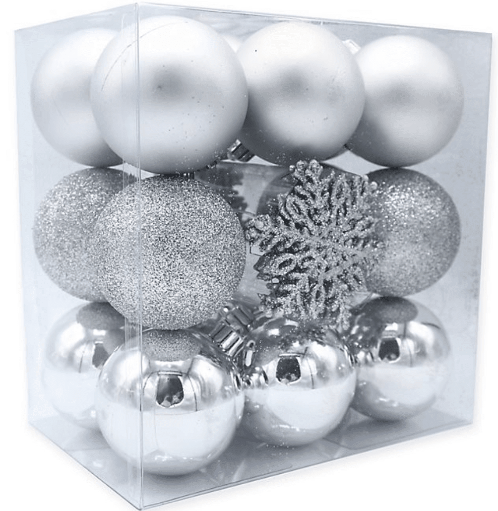 26 Pack of Christmas Ornaments