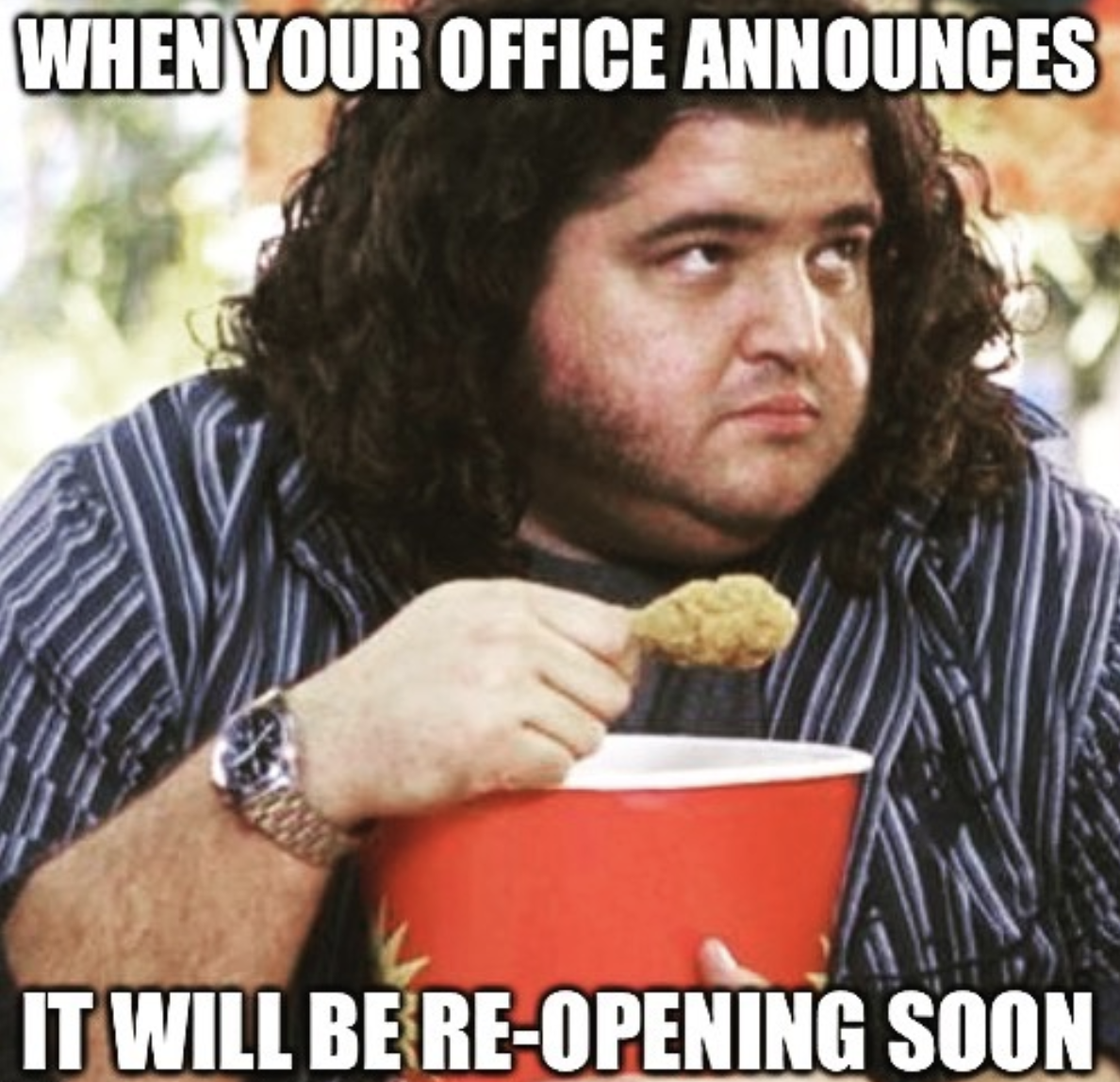 Office Reopening Meme