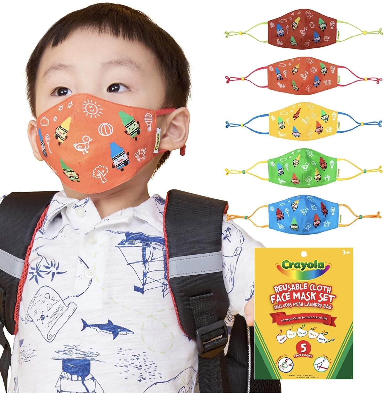Crayola face masks