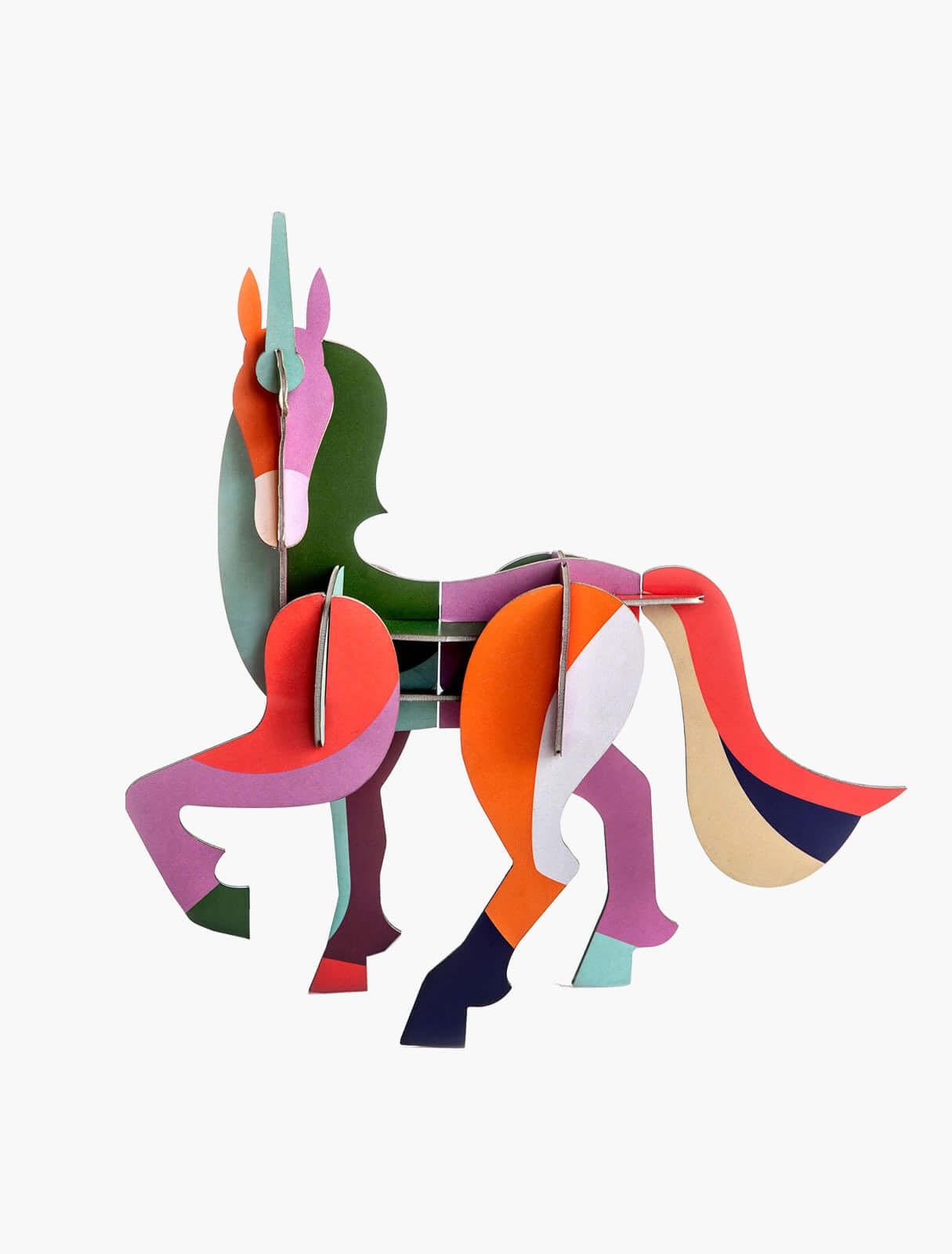 Big Unicorn 3-D Puzzle